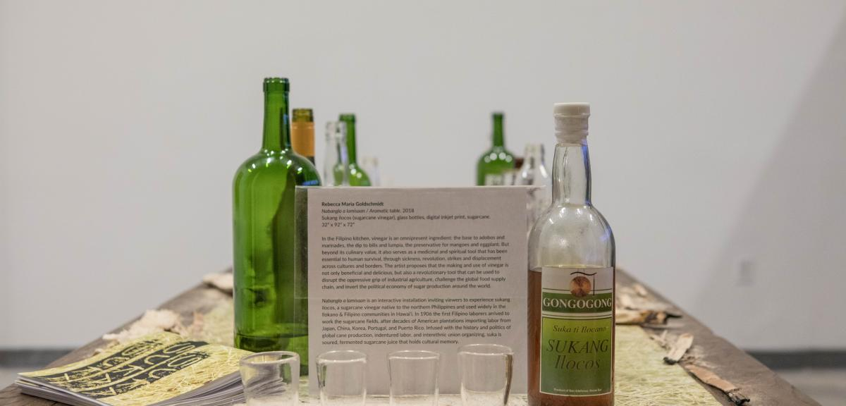 Working Conditions exhibition - Rebecca Maria Goldschmidt - Aromatic Table