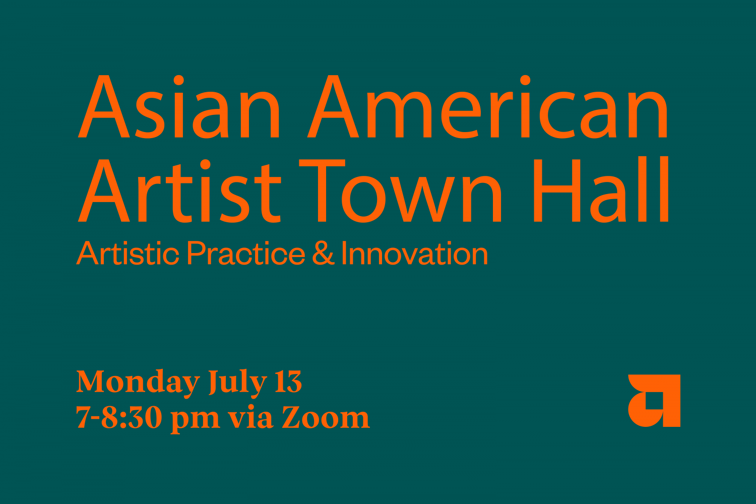 Asian American Artist Town Hall