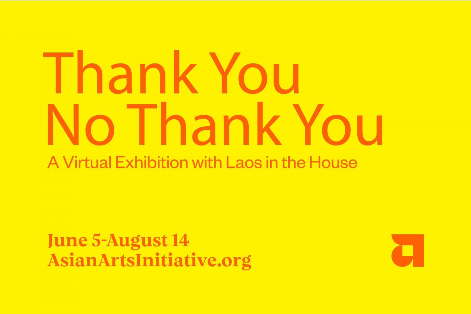Thank You No Thank You - A Virtual Exhibition with Laos in the House