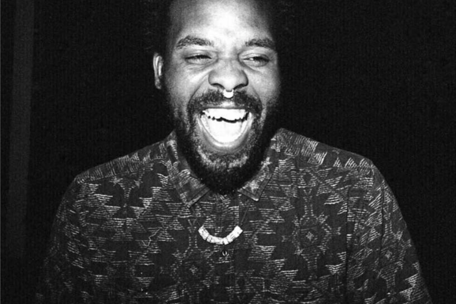 Portrait photograph of the artist Jeremiah Jordan